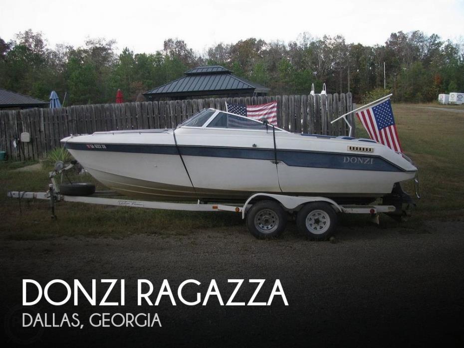 1988 Donzi Ragazza
