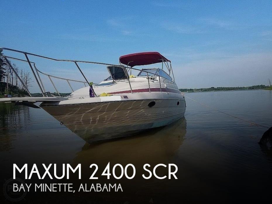1990 Maxum 2400 SCR