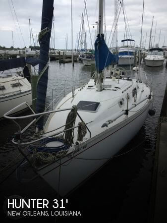 1987 Hunter 31 Sloop Shoal Draft
