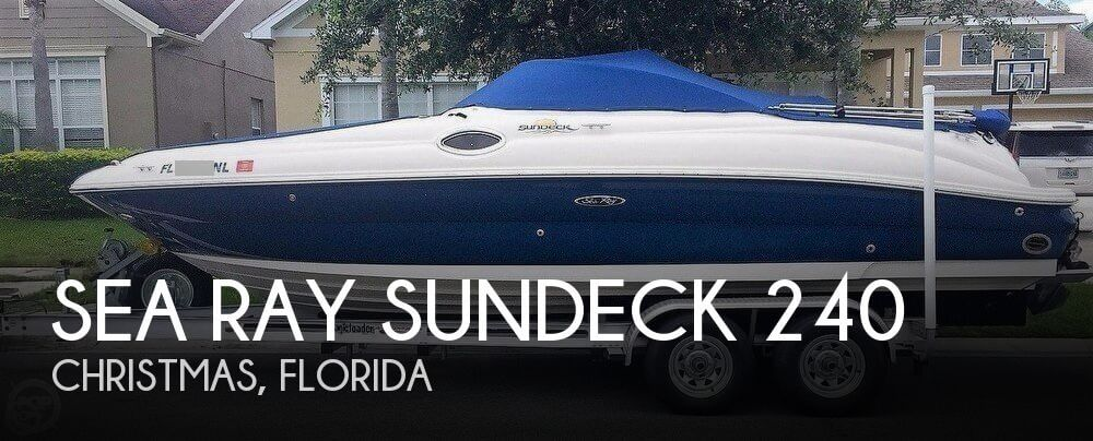2007 Sea Ray Sundeck 240