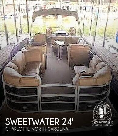 2018 Sweetwater 235 CB Premium Tritoon