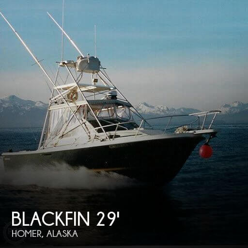 1990 Blackfin 29 Sportfisherman