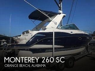 2013 Monterey 260 SC
