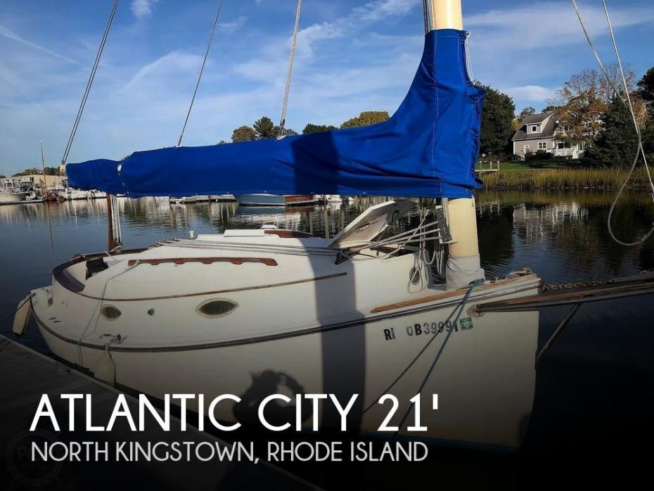 1983 Atlantic City 21 Catboat
