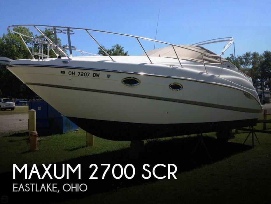 2003 Maxum 2700 SCR