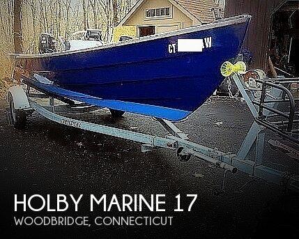 2000 Holby Marine 17 Bristol Skiff