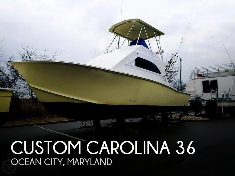 1989 Custom Carolina 36