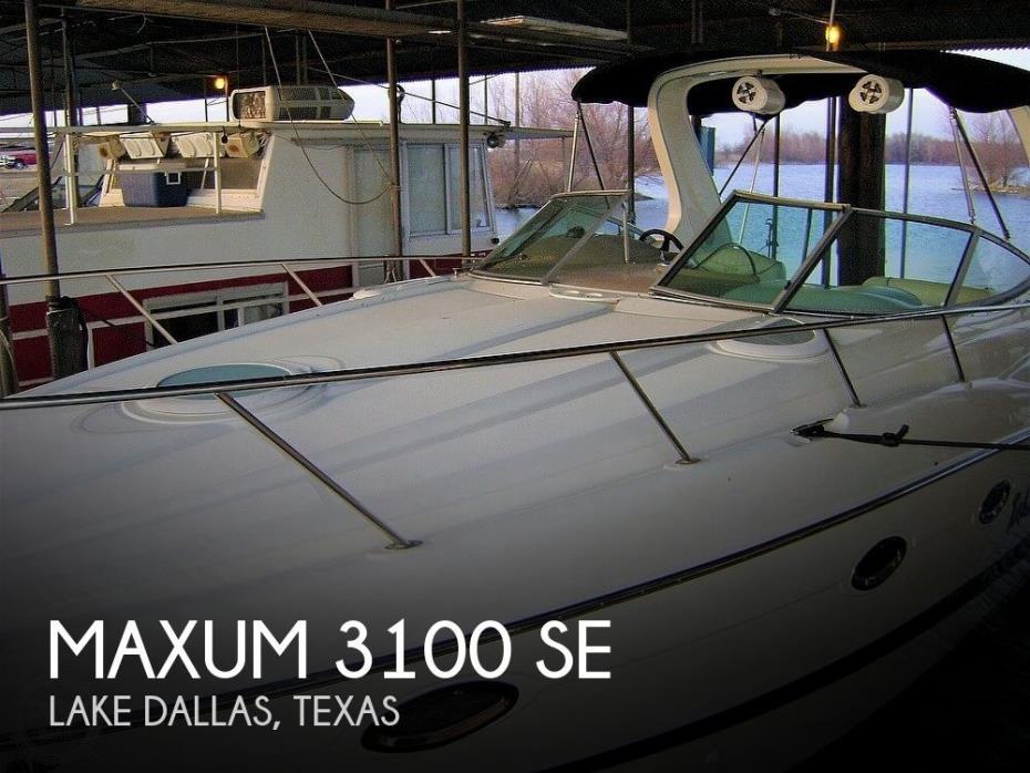 2003 Maxum 3100 SE