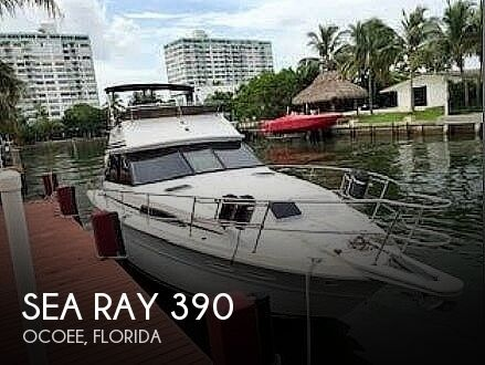 1985 Sea Ray 390 Sedan SF
