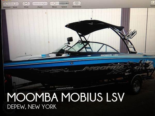 2011 Moomba Mobius LSV