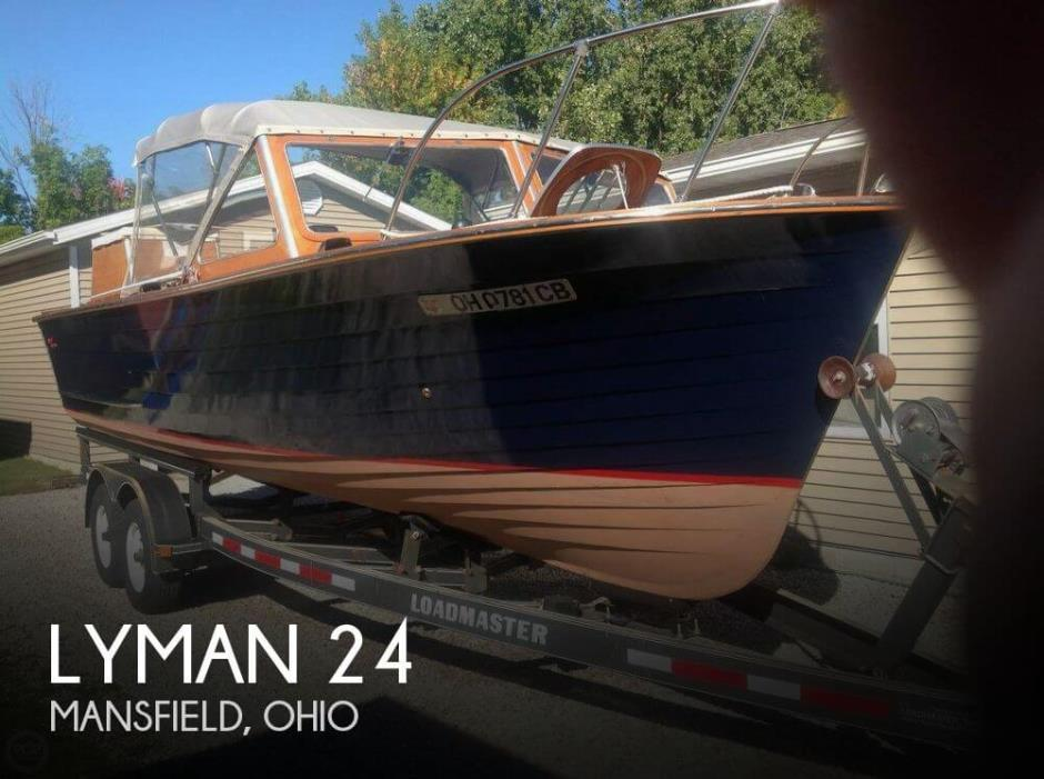 1962 Lyman 24 Sleeper