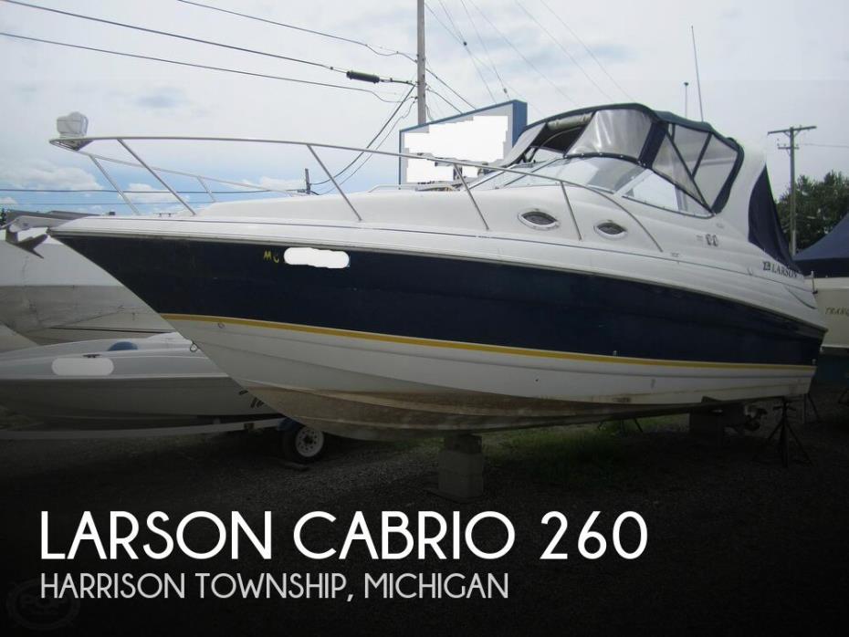 2005 Larson Cabrio 260