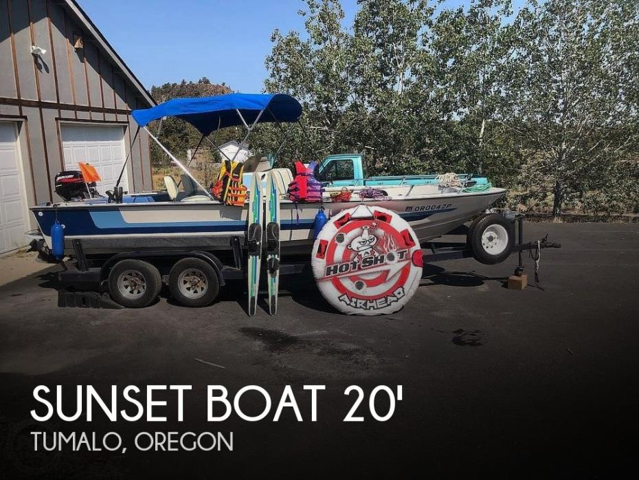 1980 Sunset Boat Fish and Ski