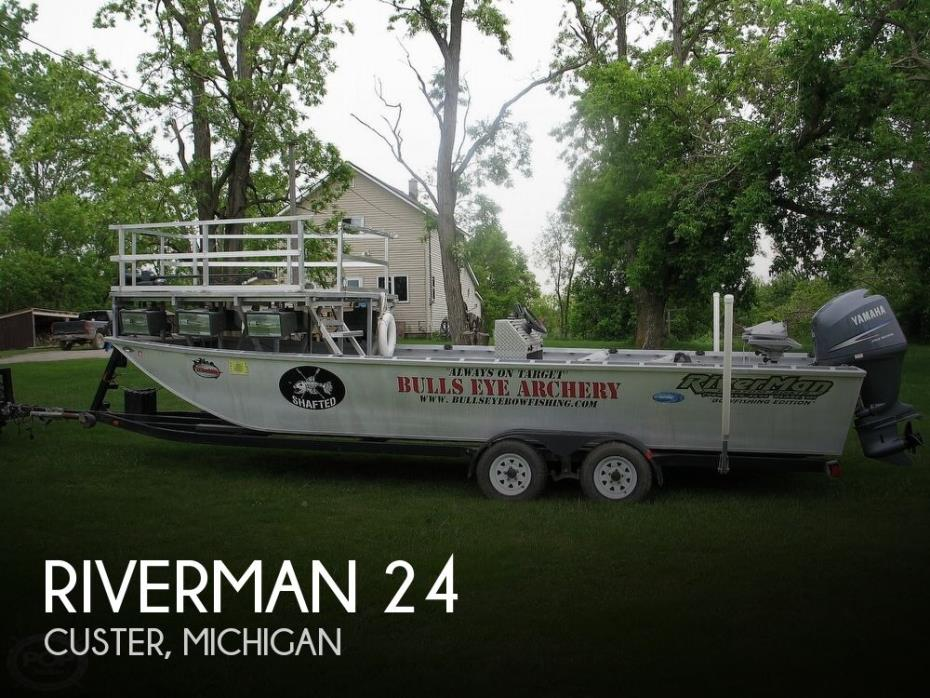 2011 Riverman Custom 24 Bowfisher