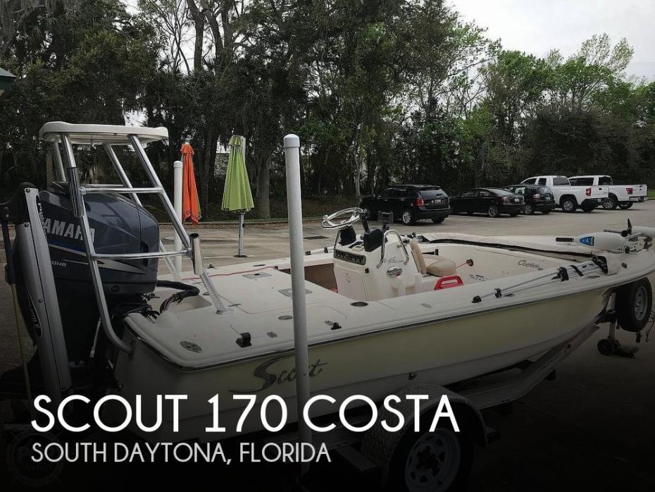 2007 Scout 170 Costa