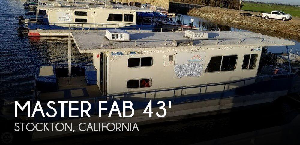 1987 Master Fabricators 43 Houseboat