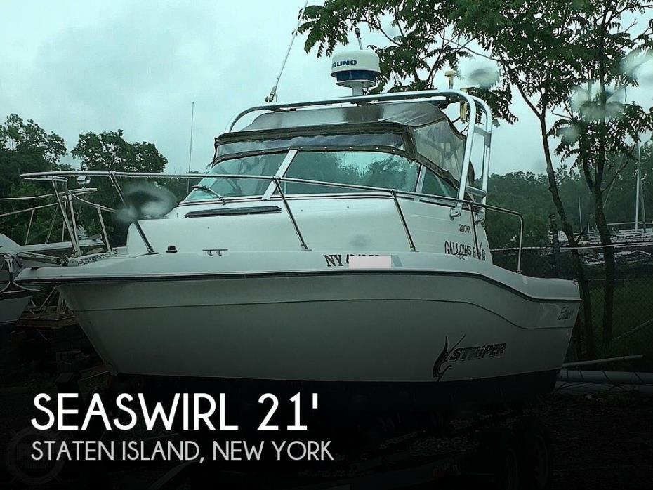 1996 Seaswirl 2100 Striper W/A