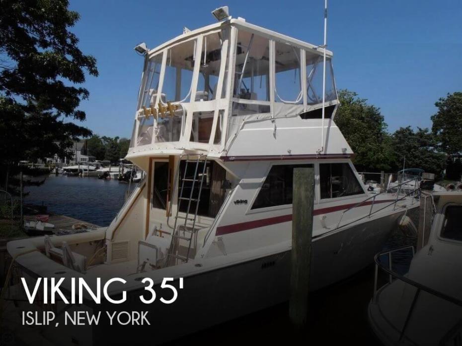 1986 Viking 35 Convertible