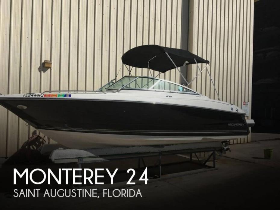 2011 Monterey 244 fs
