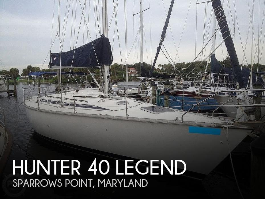 1988 Hunter 40 Legend