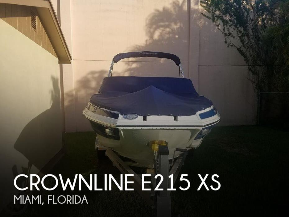 2018 Crownline E215 XS