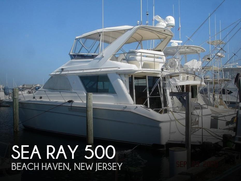 1990 Sea Ray 500 Sedan Bridge