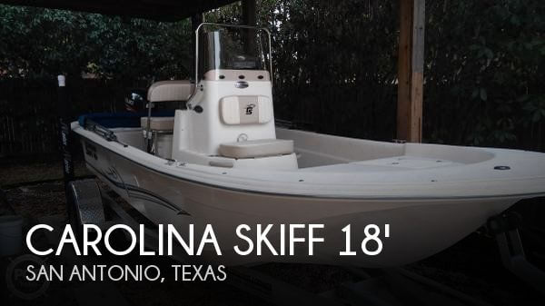 2016 Carolina Skiff 18 JVX