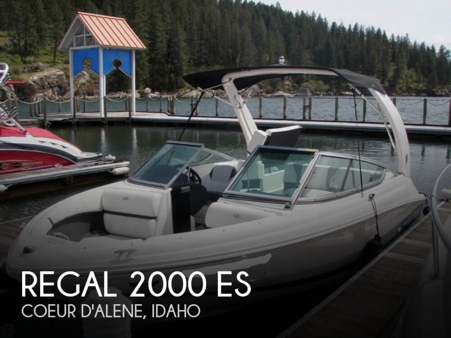2016 Regal 2000 ES