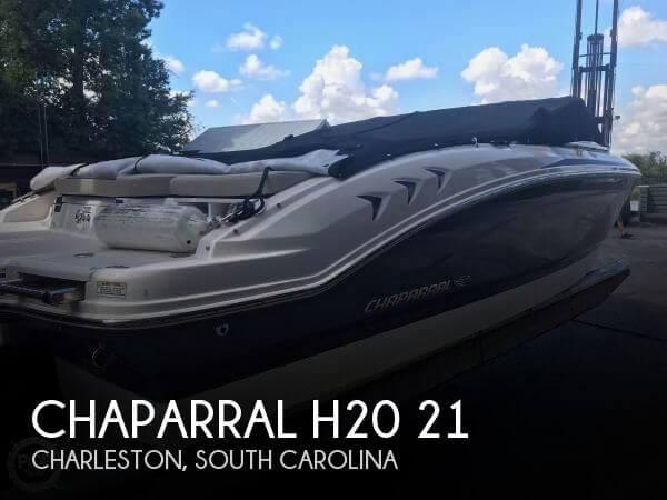 2014 Chaparral H20 21 Ski & Fish