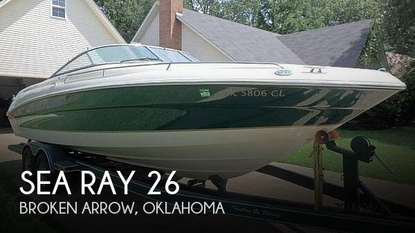 2001 Sea Ray 260 BR Select