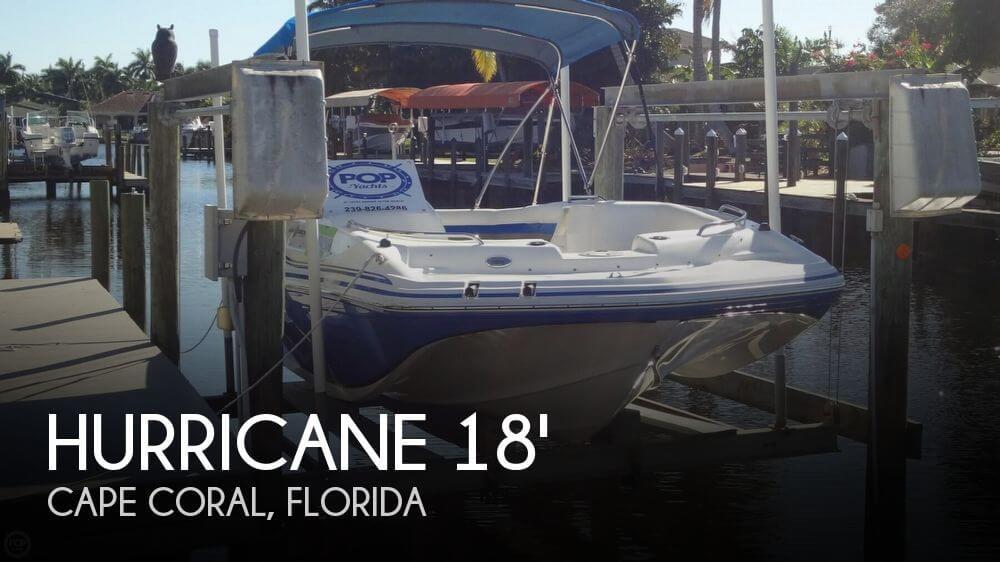 2013 Hurricane 188 SunDeck Sport