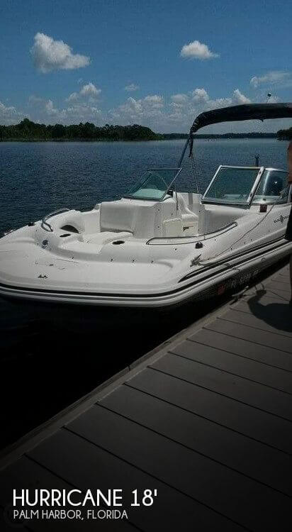 2013 Hurricane 187 Sun deck