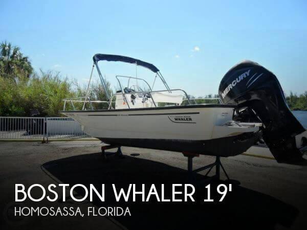 2008 Boston Whaler 190 montauk