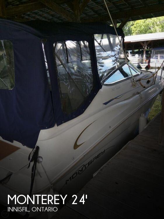 1998 Monterey 242 Cruiser
