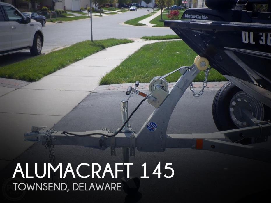 2019 Alumacraft Escape 145 CS
