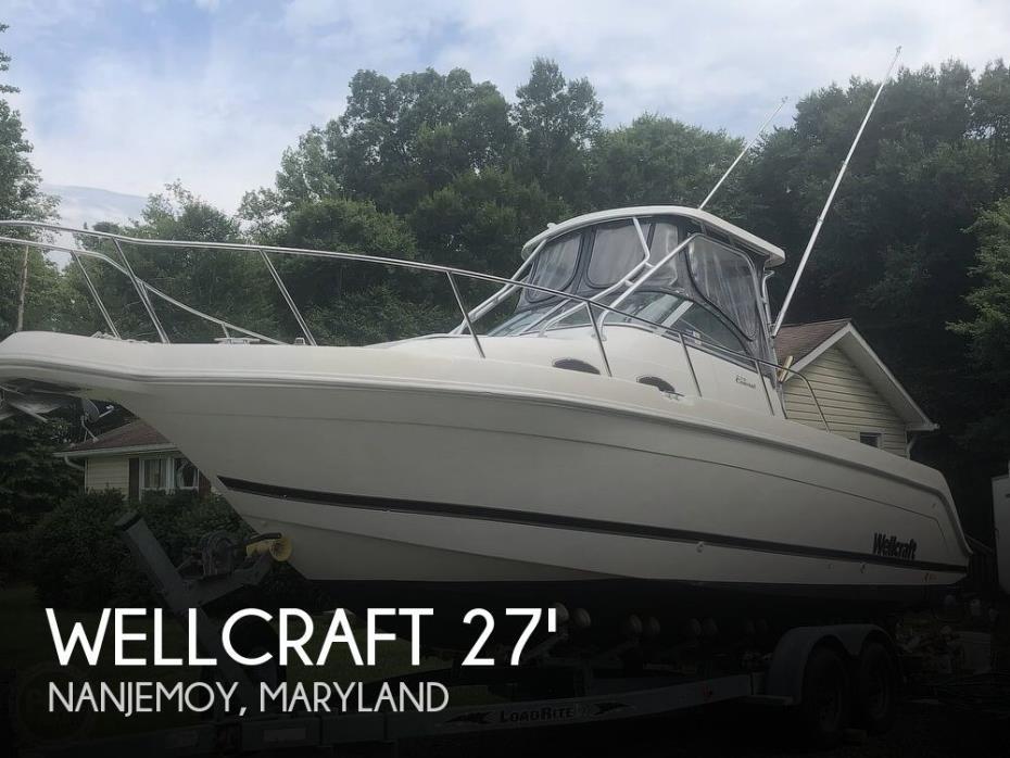2000 Wellcraft 270 Coastal
