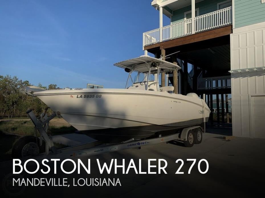 2002 Boston Whaler 270 Outrage