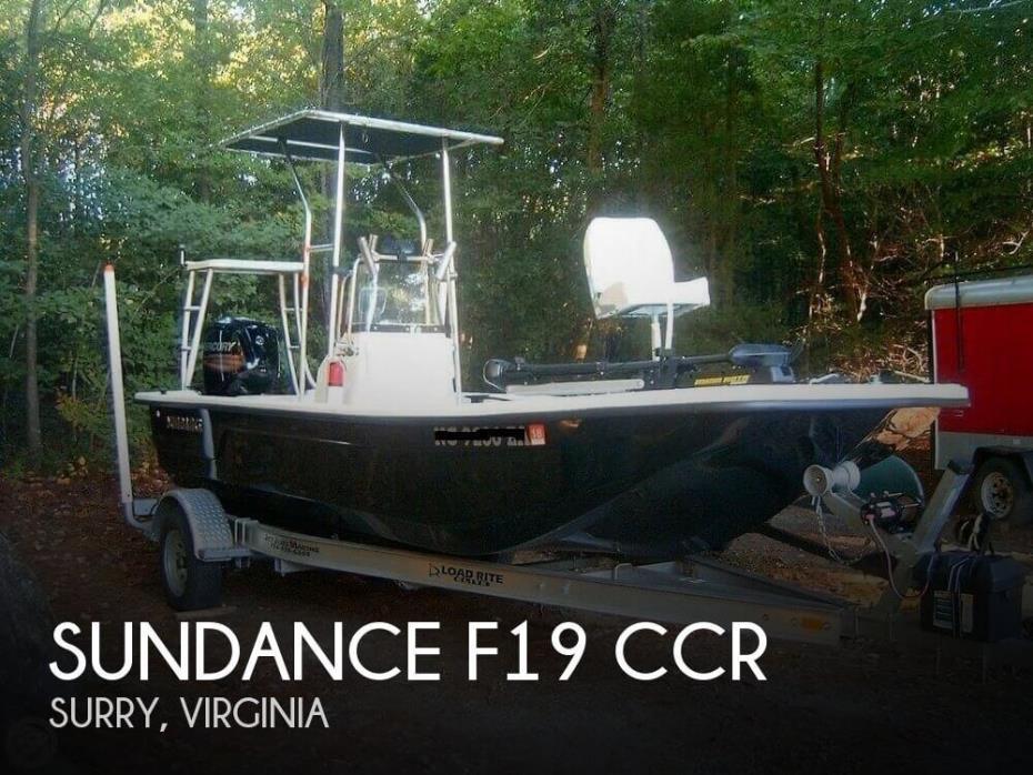 2014 Sundance F19 CCR