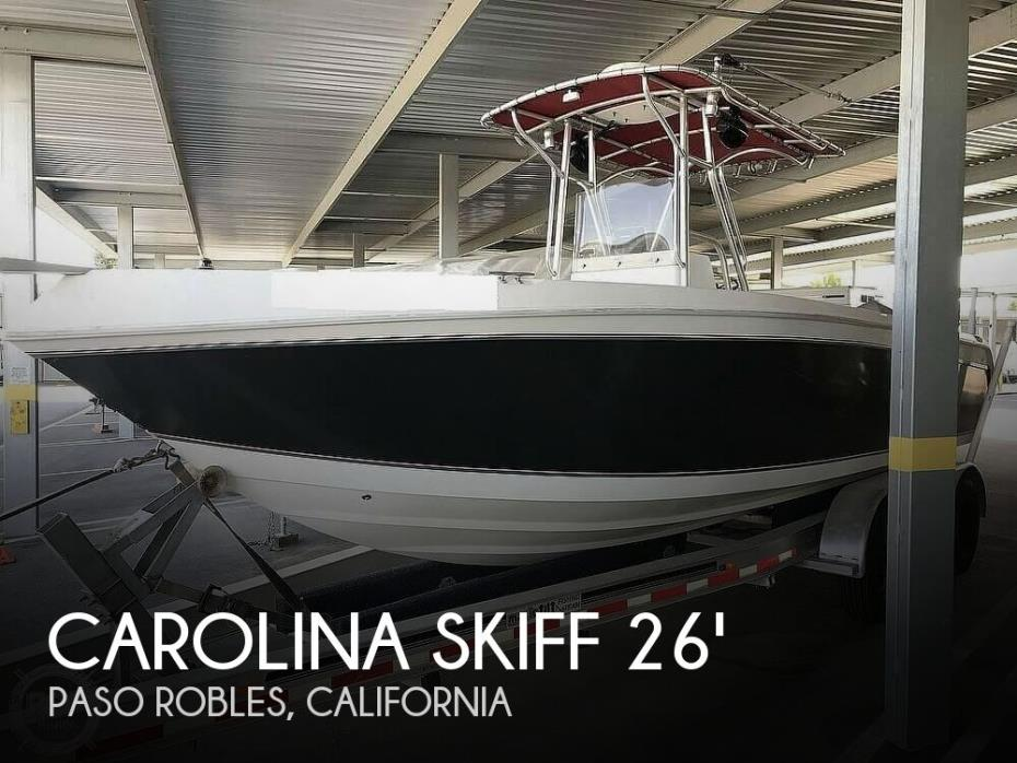 2009 Carolina Skiff 2790DLX Extra Wide