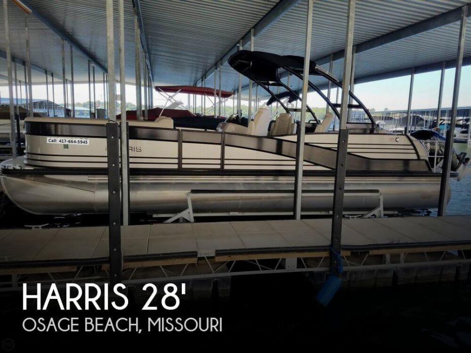 2016 Harris Grand Mariner 270