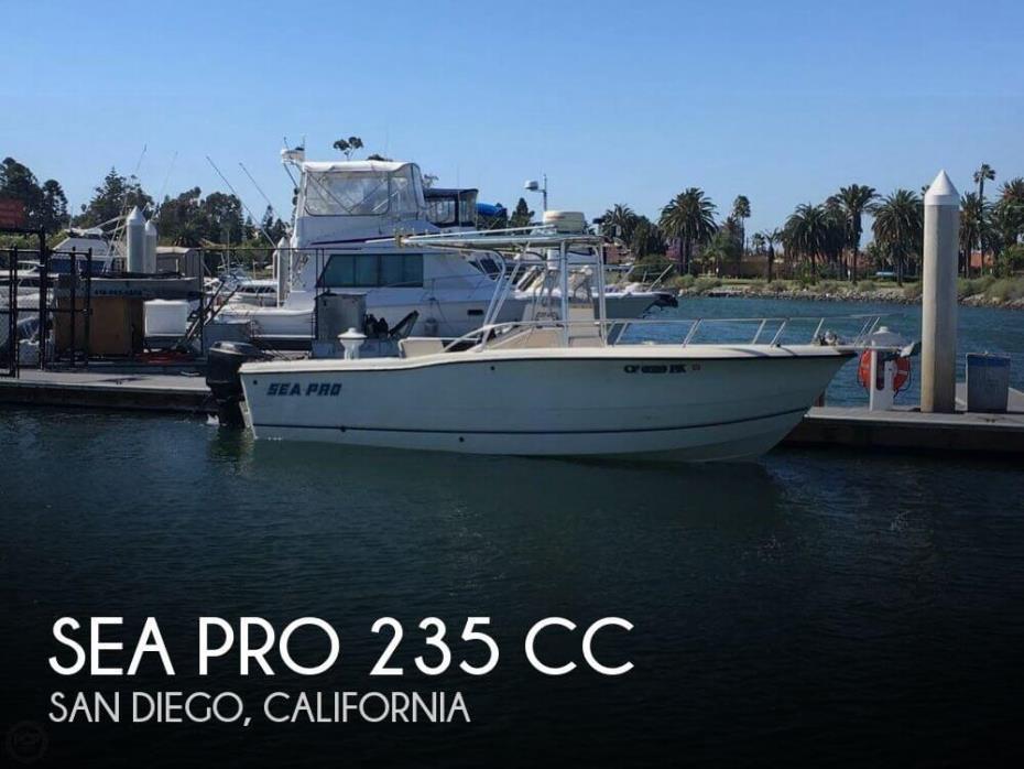 1999 Sea Pro 235 CC