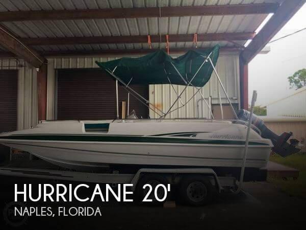 1998 Hurricane FunDeck 201
