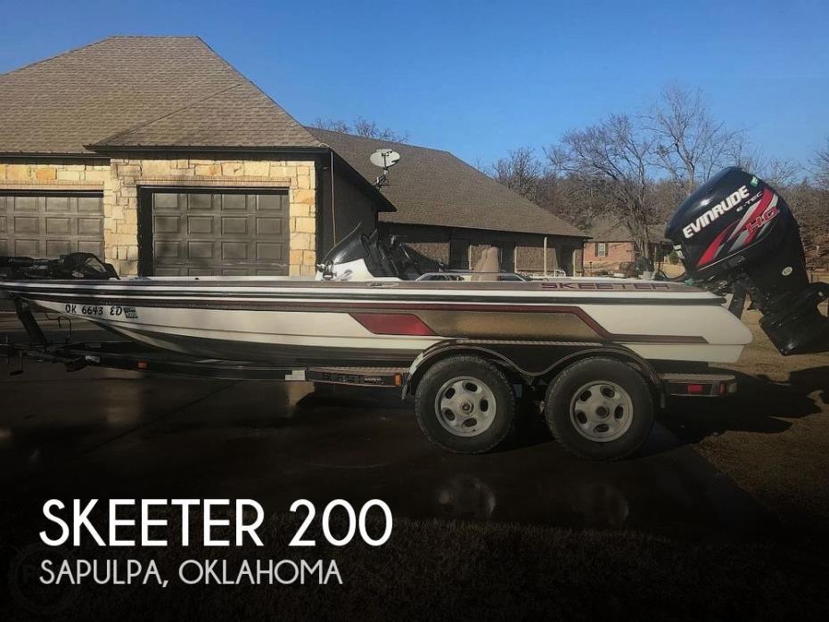 2001 Skeeter 200