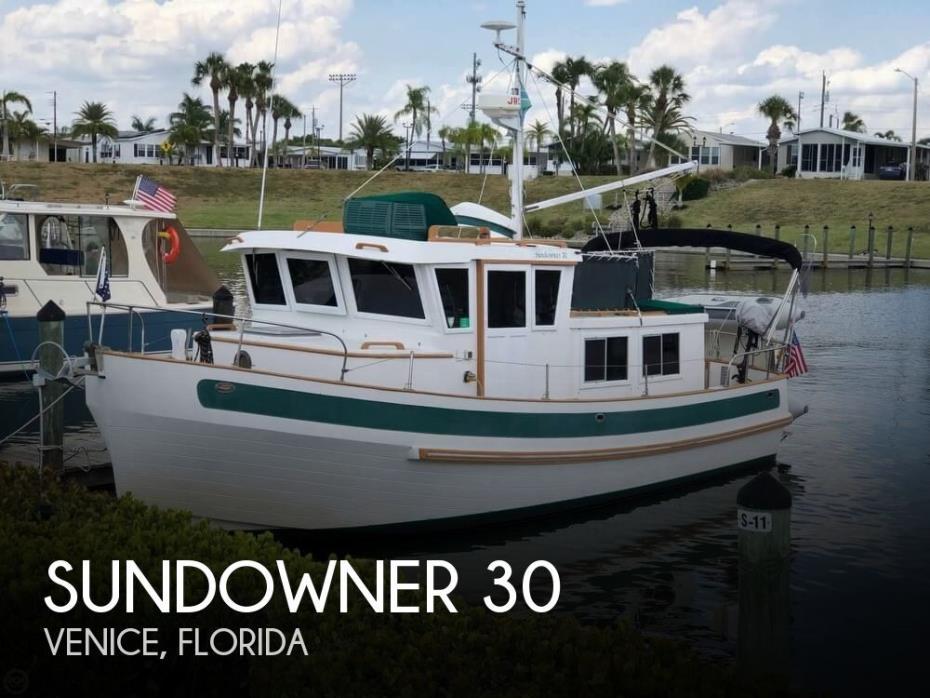 1983 Sundowner 30