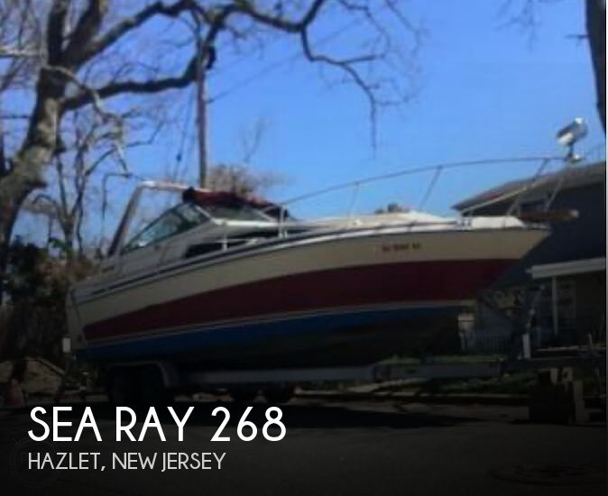 1986 Sea Ray 268 Sundancer