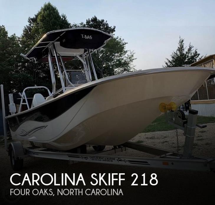 2019 Carolina Skiff 218 DLV