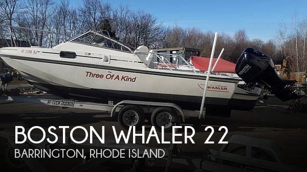 1987 Boston Whaler 22 Revenge WT