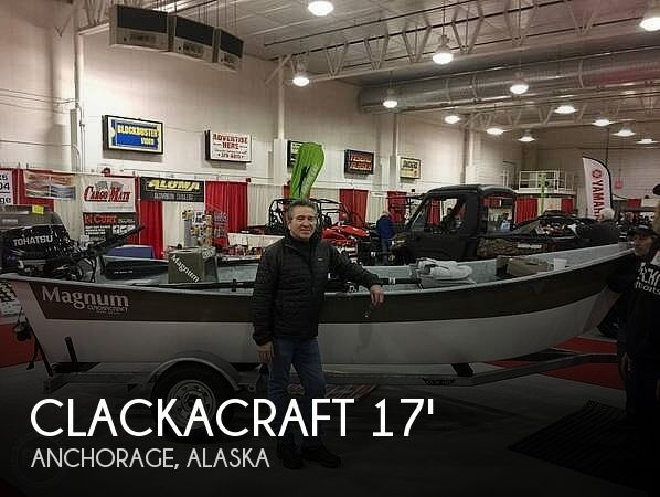 2017 Clarkacraft 17 Magnum Power Drifter