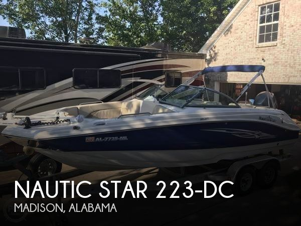 2014 Nautic Star 223-DC