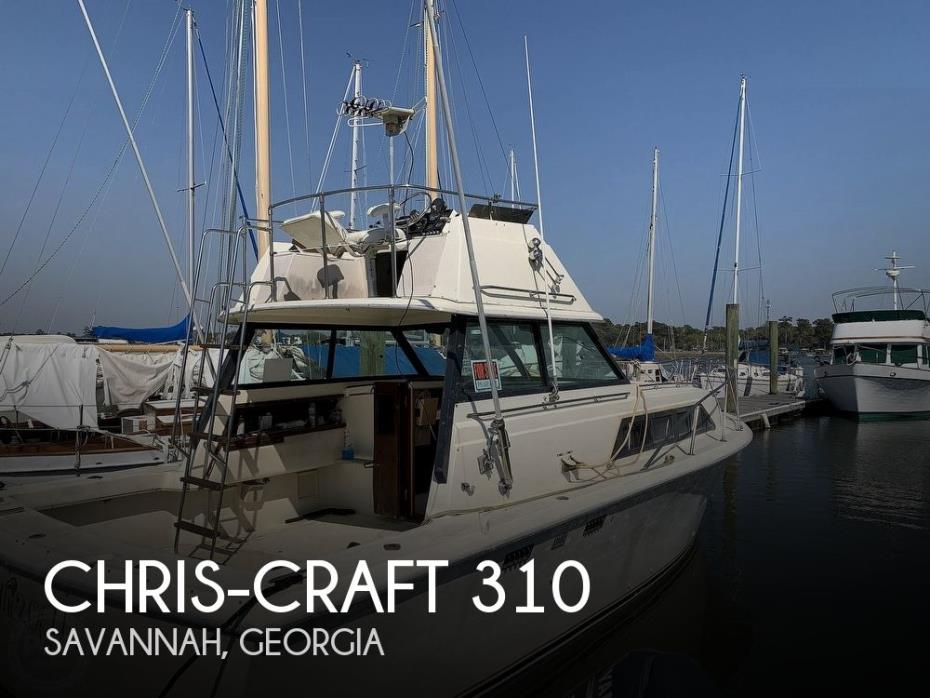 1981 Chris-Craft CATALINA 310 EXPRESS